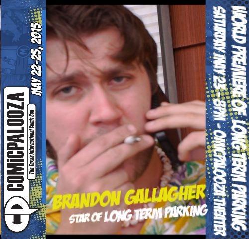 ComicPalooza Brandon Gallagher